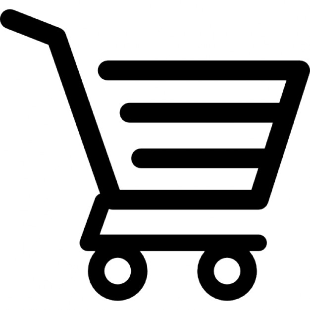 shopping-cart-of-horizontal-lines-design_318-50800